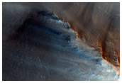The Dark Spot on Mars