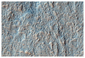 Sample of Mantling and Ejecta Material from Southern Newton Crater