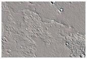 Strike Slip Fault in Amazonis Planitia