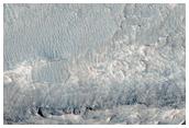 Ridges in Candor Chasma