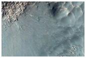 6-Kilometer Diameter Rayed Crater in Terra Sabaea