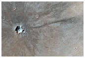 Very Recent Impact Crater
