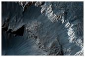 Interesting Crater in Meridiani Planum