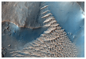 Sample of Crater Central Peak in Nili Fossae