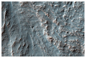 Sample of Crater in Southern Thaumasia Region