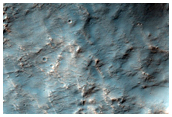 Sample of Light-Toned Layered Material East of Terby Crater