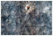 Sample of Craters and Dark Plains in and Near Viking 2 Image 673B30