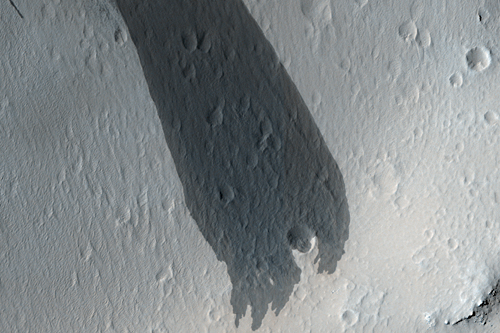 Big Impact-Triggered Dust Avalanche