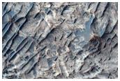 Northwest Candor Chasma Layered Sulfates