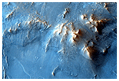 West Nili Fossae Chlorite Crater Ejecta Blanket