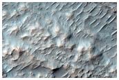 Rocky Landslide in Crater