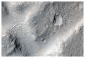 Cluster of Mesas in Lowland Immediately North of Gale Crater