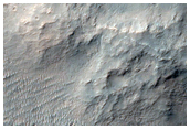 Mounds on Kashira Crater Floor