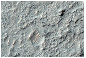 Layered Bedrock on Crater Floor