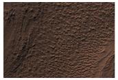 Complex Banded Flow Terrain on Floor of Hellas Basin