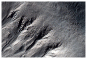 Gullied Crater