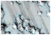North Polar Dark Sand Dunes