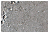 Field of Small Volcanoes Northeast of Ascraeus Mons