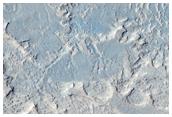 Eroded Material Adjacent to Cerberus Fossae