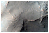 Wallrock Spurs That Are Alligned and Extend Into Melas Chasma