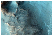 Olivine-Rich Terrain in Yuty Crater