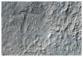Crater in Hellas Region