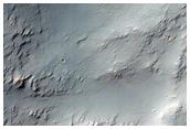 Dissected Layered Bedrock in Tyrrhena Terra