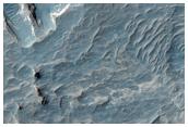 Valley in Meridiani Planum