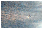Deep Bedrock Exposure in Melas Chasma