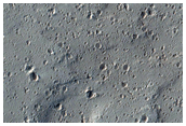 Field of Small Volcanoes Northeast of Ascraeus Mons