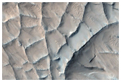 Ridged Material in Viking Image 693A34