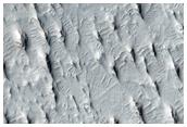 Sinuous Ridge in the Aeolis and Zephyria Regions