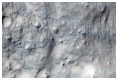 Possible Clay Minerals in Northwest Gale Crater
