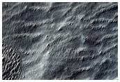 Unusual Surface Feature in Hesperia Planum