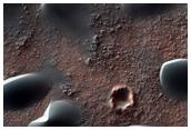 Dunes on Western Edge of Hellas Planitia