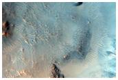 Central Peak of a Large Crater in Acidalia Planitia