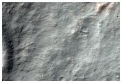 Bedrock Outcrops North of Hellas Planitia