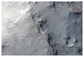 Central Structure of an Impact Crater in Terra Cimmeria