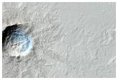 Rayed Crater in Elysium Planitia