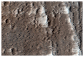 Lava Channel on the Flank of Ascraeus Mons