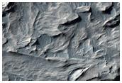Blocky Deposit in Candor Chasma