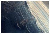 Steep North-Polar Boundary Scarp