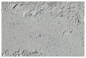 Unusual Lava Flow Texture in Elysium Planitia
