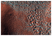 Mounds East of Hellas Planitia