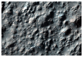 Unique Ejecta Pattern From Hale Crater