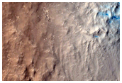 Well-Preserved Impact Crater in Arabia Terra
