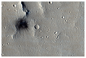 Fading Impact Crater