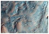 Crater in Sinus Sabaeus Region