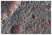 Diverse Bedrock Exposures on Floor of Nili Patera