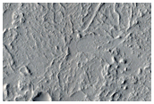 Flow Front and Surface Texture in Kasei Valles in MOC Image SP2-41705